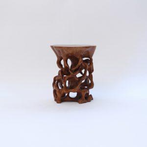 A sandalwood carving
