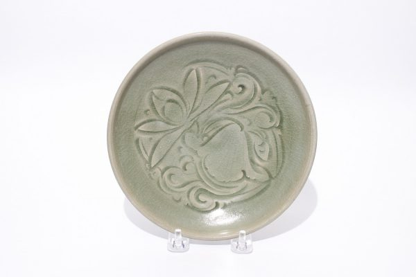 A Yazhou carved celadon lotus bowl