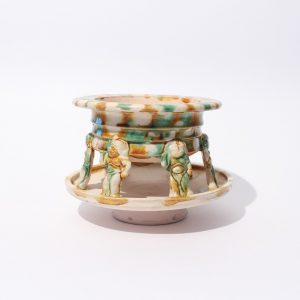 A 'Sancai'-glazed incense burner