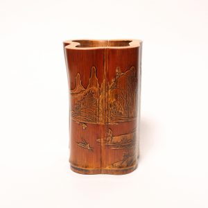 A bamboo 'Liuqing' brush pot