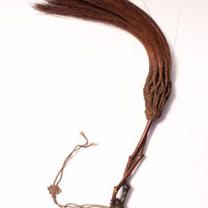 A bamboo-root whisk