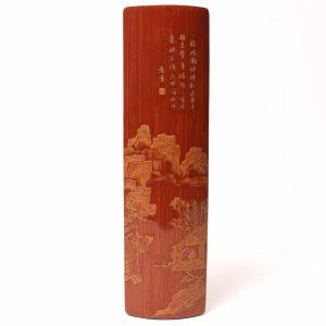 A bamboo 'Liuqing' wristrest