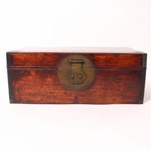 A rectangular 'Huanghuali' box
