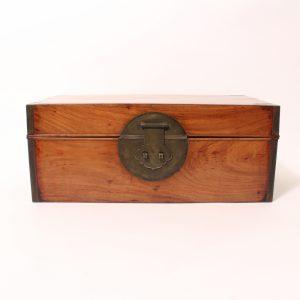 A rectangular 'Huanghuali' box