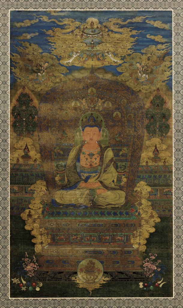 Yuan Dynasty Painting of Vairocana Buddha