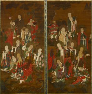 The Eighteen Arhats