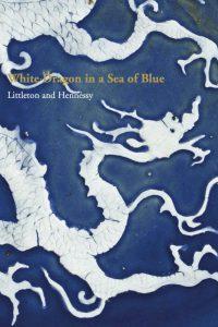 White Dragon in a Sea of Blue